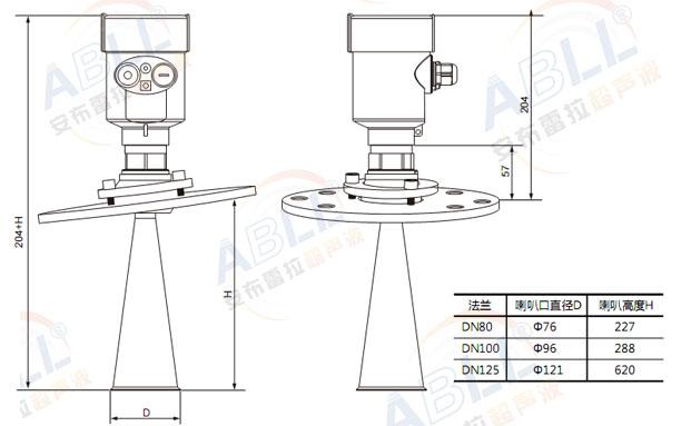 雷达485接口详细接线图
